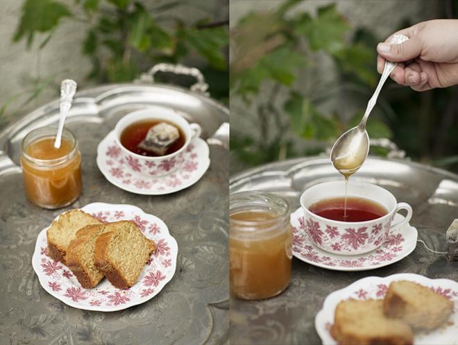 Honungskaka med ingefära